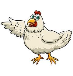 A chicken vector