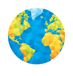 Abstract globe vector