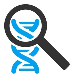 Explore dna icon vector