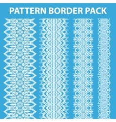 Pattern border pack vector