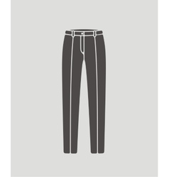 Pants icon vector