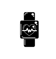 Contour smartwatch to know the rhythm cardiac vector