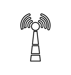Wifi zone antenna vector