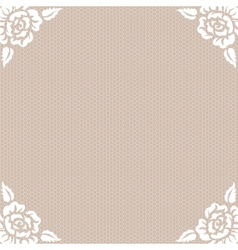 Lace vintage background vector