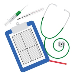 medical tools for inspection vector image