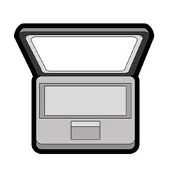 Laptop pc computer vector