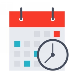 Meeting Deadlines Concept vector image