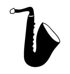 Saxophone instrument icon image vector