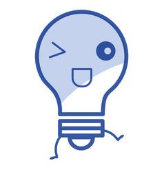 Light bulb place vector