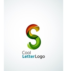 Letter company logo vector