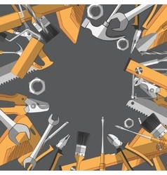 Construction tools set vector image