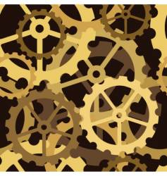 cogs tile vector image vector image