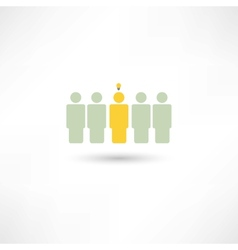 people fresh idea vector image