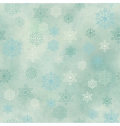 Wrapping vintage paper snowflake seamless pattern vector
