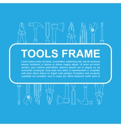 Tools frame 1 vector