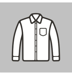 Shirt icon vector