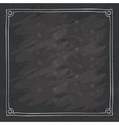Frame over grunge background vector