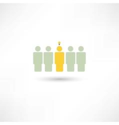 people fresh idea vector image vector image