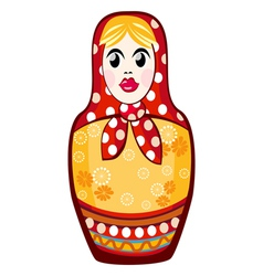 Russian nested doll vector