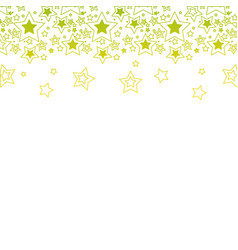 Silhouette stars christmas decoration backgroud vector