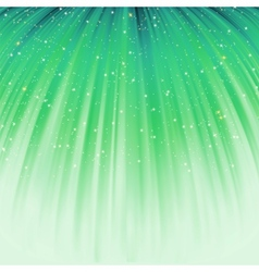 Festive green abstract with stars eps 8 vector