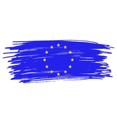 European union flag vector