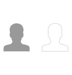 avatar set icon vector image vector image