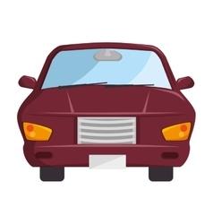 Car transport vehicle vector