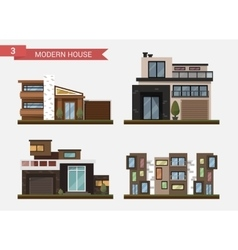 flat traditional and modern vector image vector image
