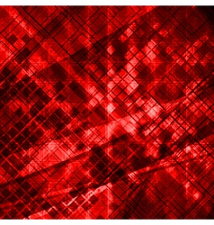 Grunge tech design vector image