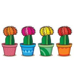 Realistic cactus vector image vector image