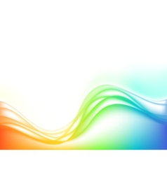 stylized water waves vector image vector image