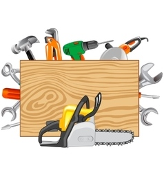 Tools joiners and metalworking vector