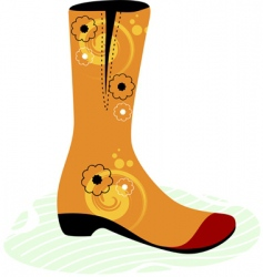 Foot wear vector