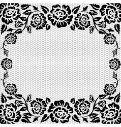 lace vintage background vector image