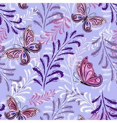 Gentle violet vector