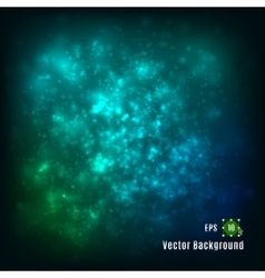 abstract light background Green blue colors vector image
