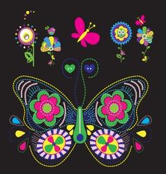 Butterflys vector