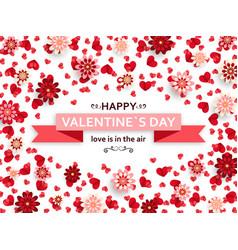 Happy valentine day background good design vector