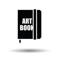 Sketch book icon vector