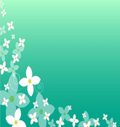 00004 floral background vector image vector image