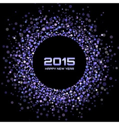 Violet bright new year 2015 background vector