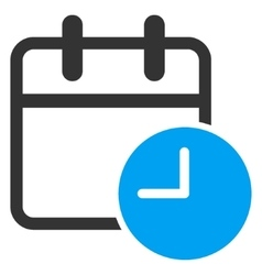 Date time icon vector