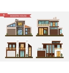 Flat traditional and modern vector