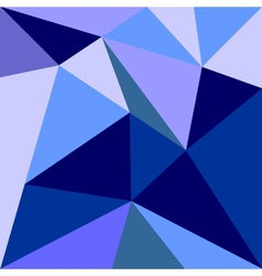Blue triangle flat wrapping surface background vector