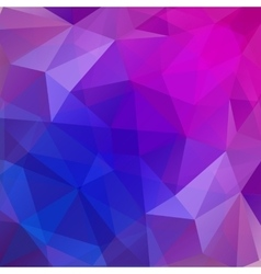 Colorful polygonal mosaic background vector image vector image
