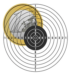 Euro on target vector