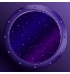 space window vector image
