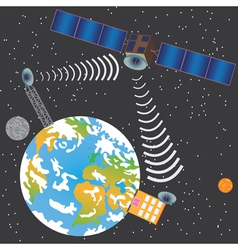 Satellite transmit signal vector