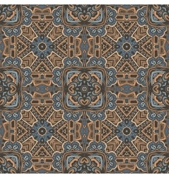 Abstract seamless mosaic pattern tiled motif vector